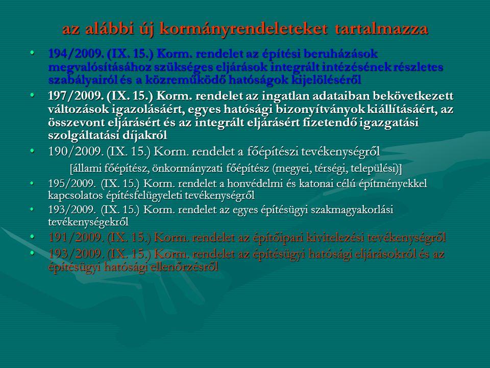 Aki vállalkozó kivitelezői tevékenységet kíván folytatni, köteles az erre irányuló szándékát a névjegyzéket vezető szervnek – Magyar Kereskedelmi és Iparkamara - bejelenteni