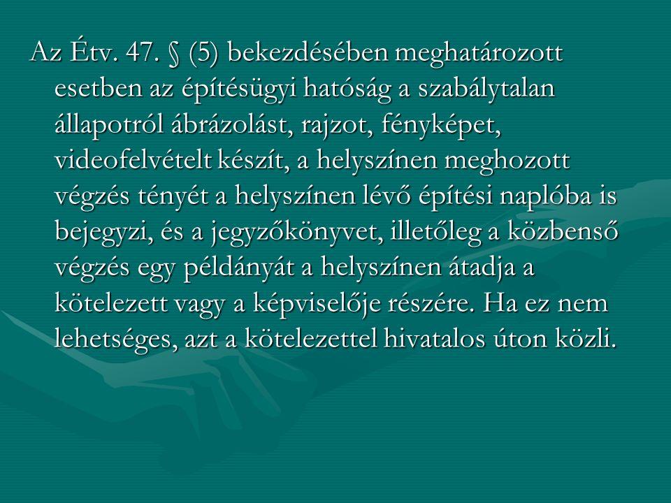 Az Étv. 47.