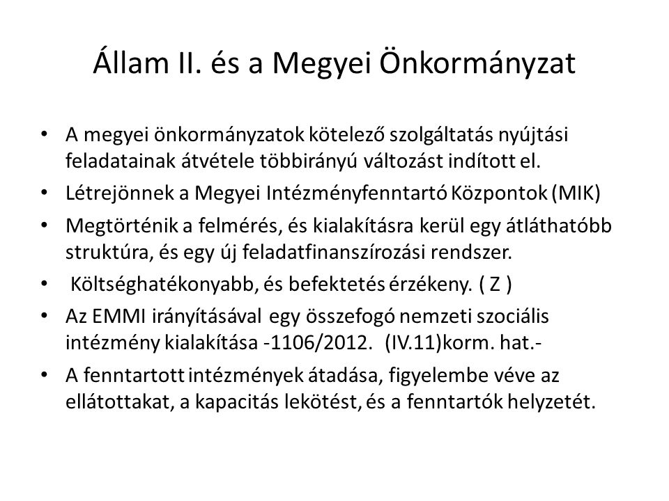 Állam II.