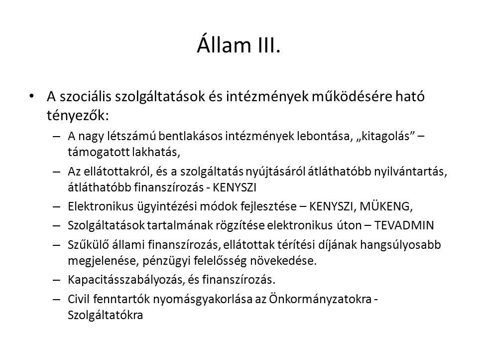 Állam III.