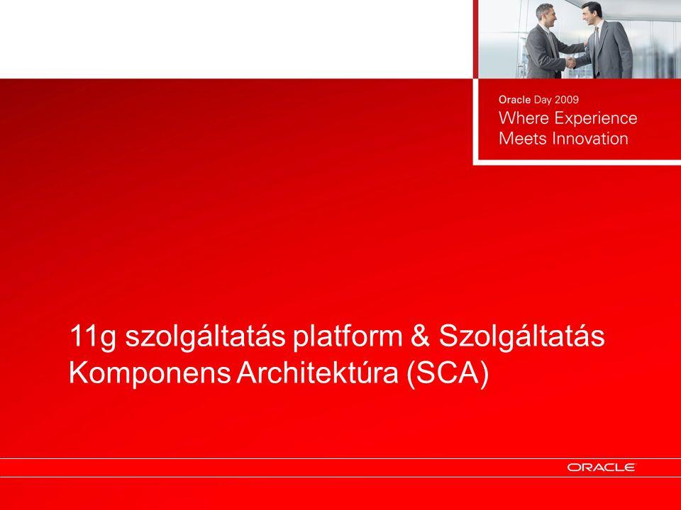 11g szolgáltatás platform & Szolgáltatás Komponens Architektúra (SCA)