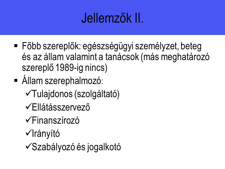 Jellemzők II.