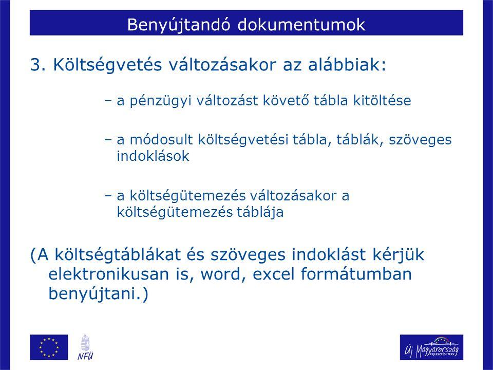 Benyújtandó dokumentumok 3.