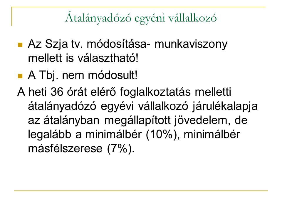 Vhr.módosítása A 4/A. § 2012.