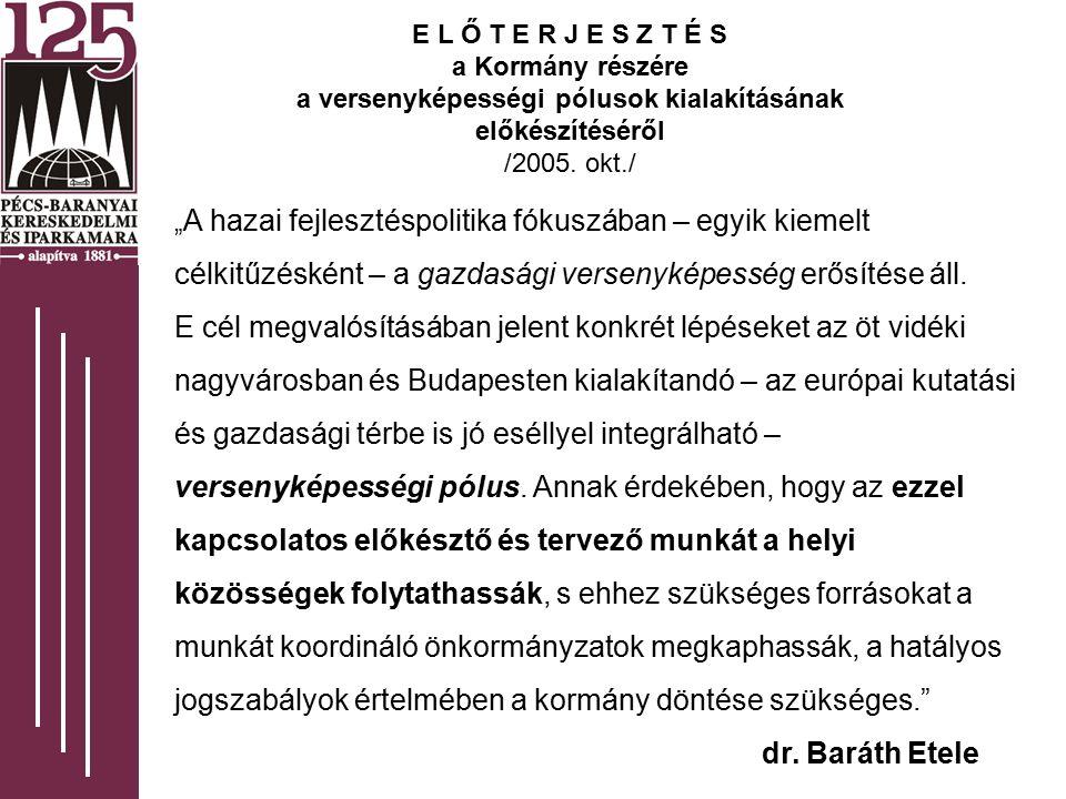 SZERVEZET FEJLESZTÉS Programirányító testület /2005.