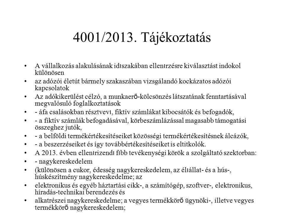 4001/2013.