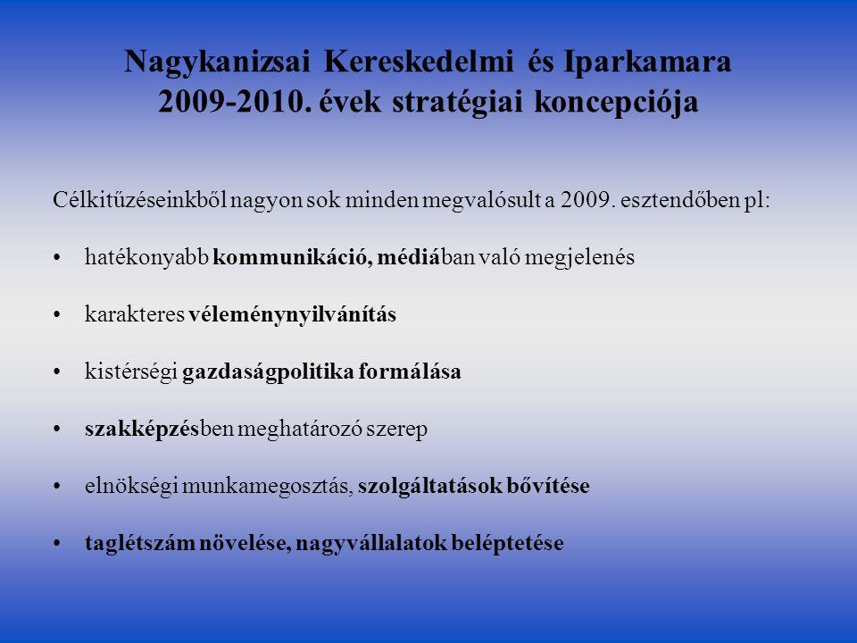 Nagykanizsai Kereskedelmi és Iparkamara 2009-2010.