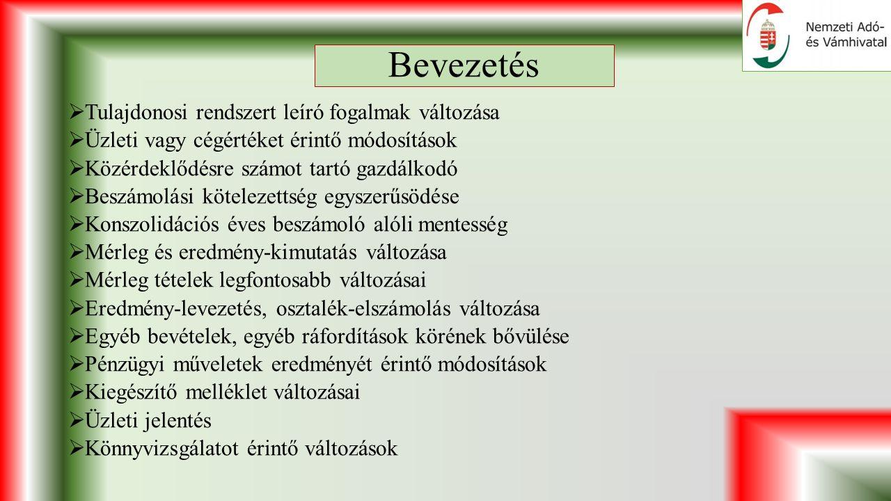 Pénzügyi műveletek eredményének összefoglalása III.