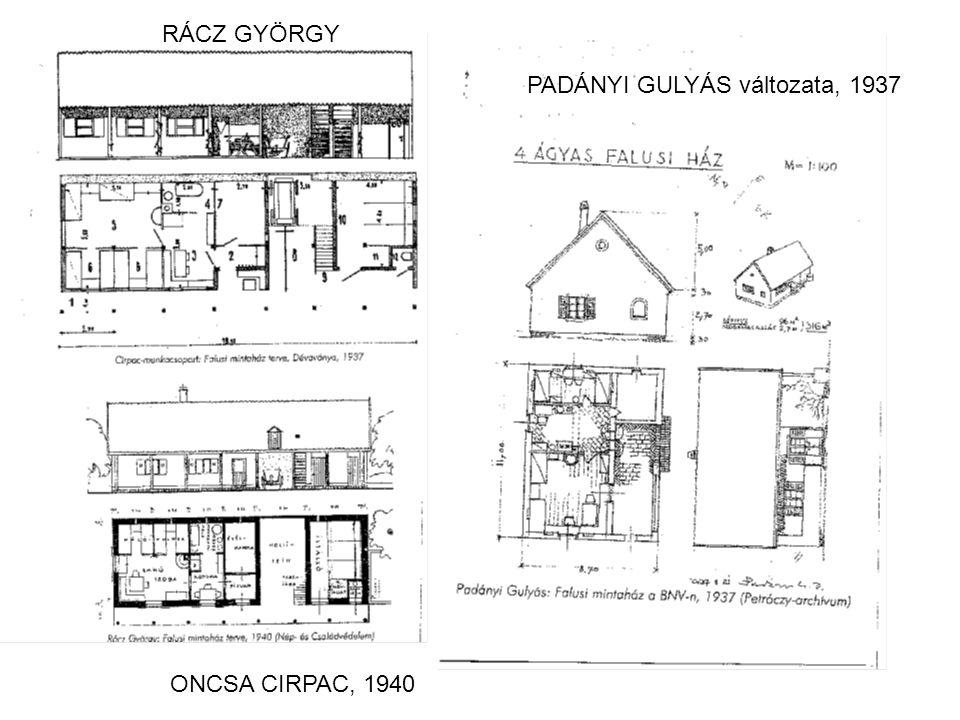ONCSA CIRPAC, 1940 PADÁNYI GULYÁS változata, 1937 RÁCZ GYÖRGY