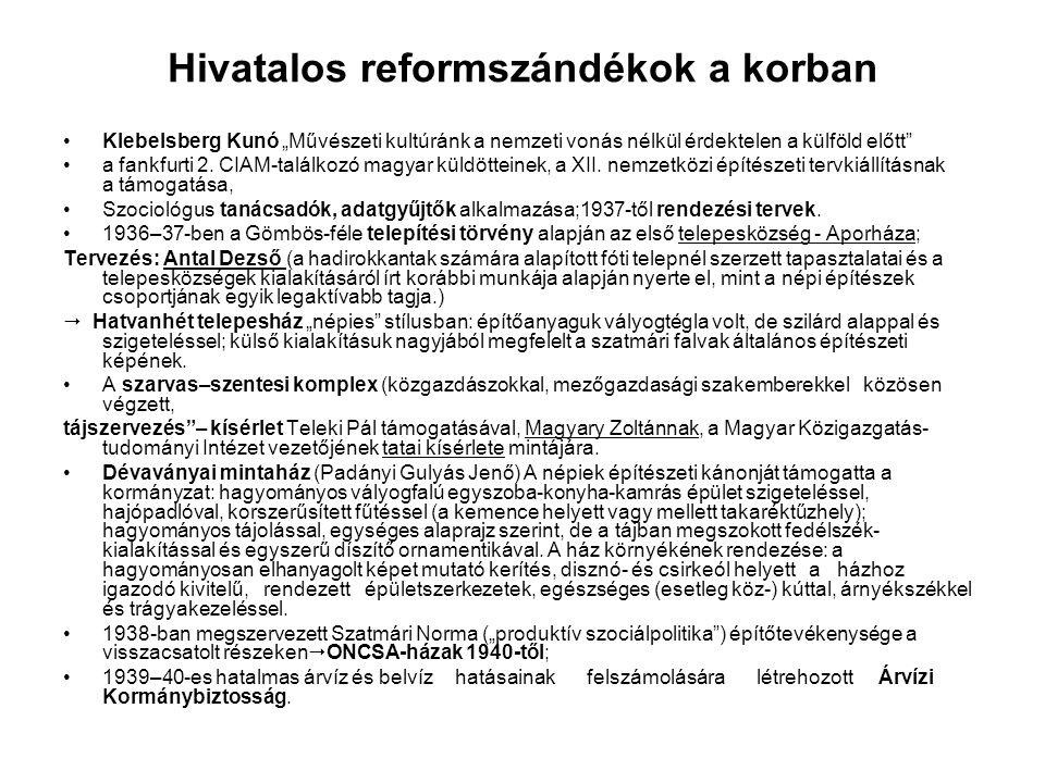 """Hivatalos reformszándékok a korban Klebelsberg Kunó """"Művészeti kultúránk a nemzeti vonás nélkül érdektelen a külföld előtt a fankfurti 2."""