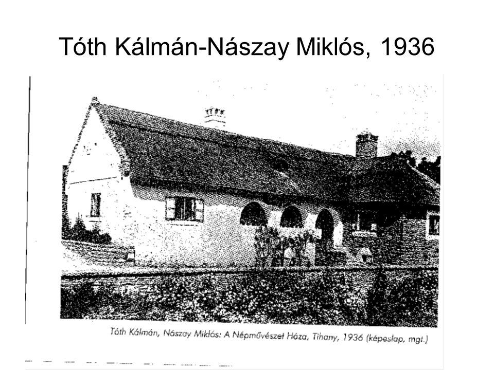 Tóth Kálmán-Nászay Miklós, 1936