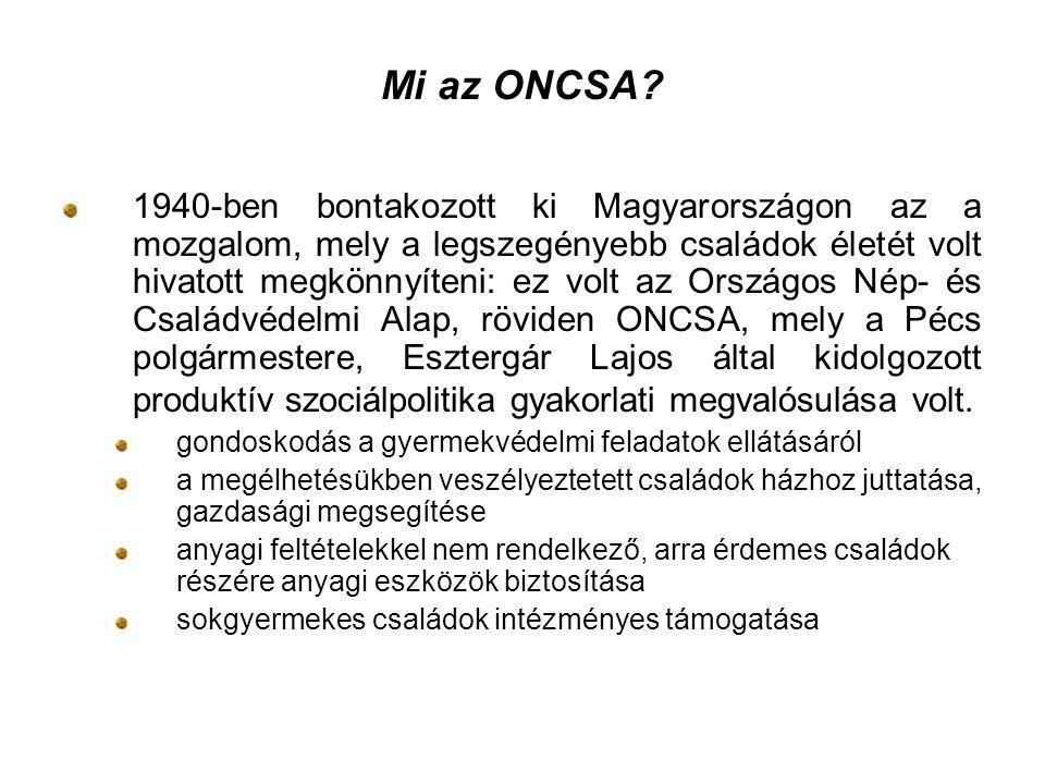 Mi az ONCSA.