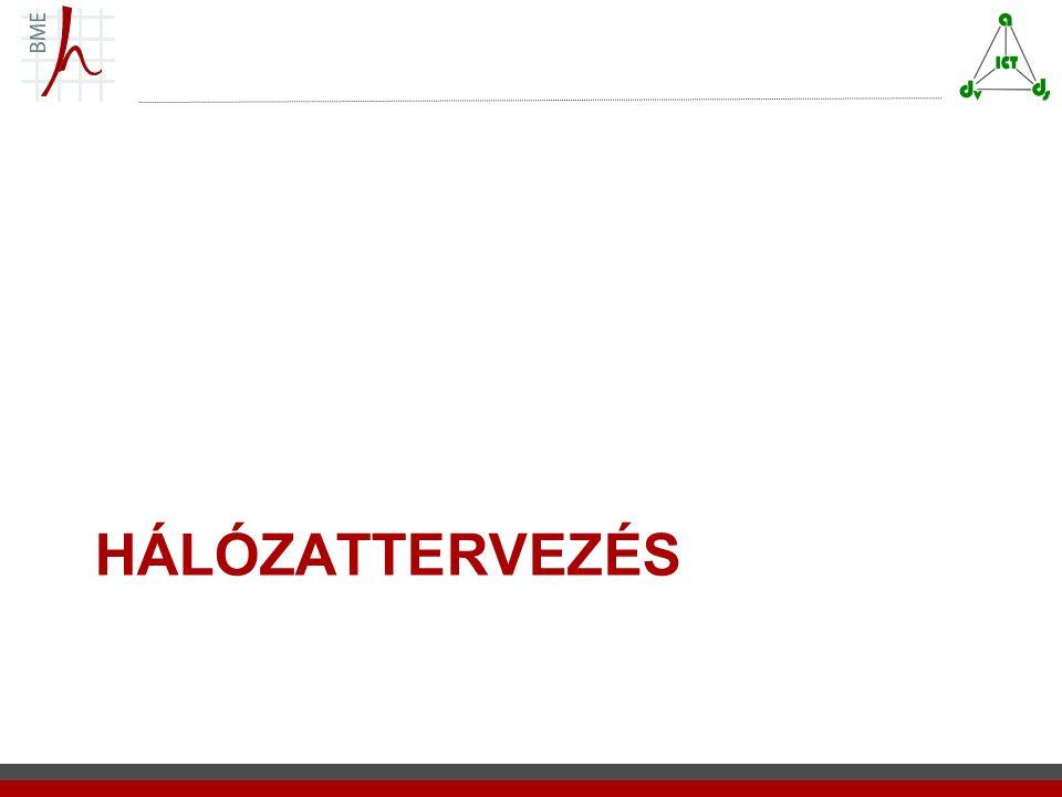 HÁLÓZATTERVEZÉS