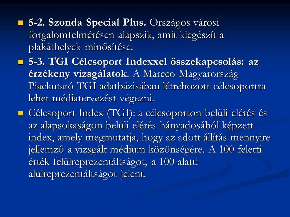 5-2. Szonda Special Plus.