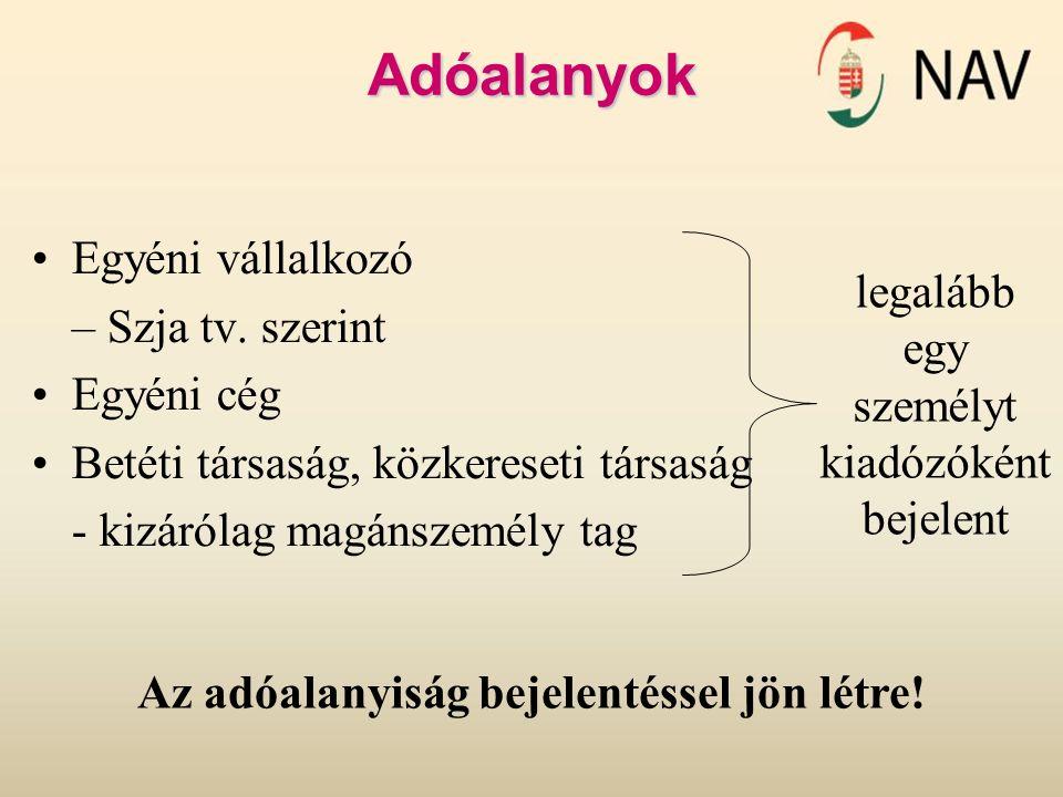Adóalap II.Pénzeszközök tárgy üzleti évi összege (beszámoló) - Pénzeszközök Szv.