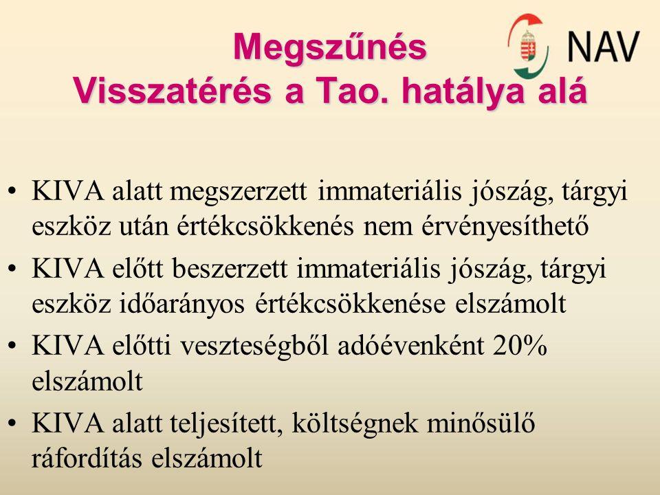 Megszűnés Visszatérés a Tao.