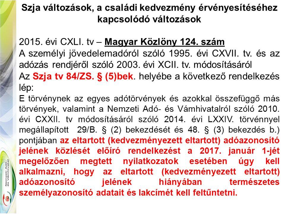 Belföldi fuvarozók napidíja - Szja 3.melléklet II/3.