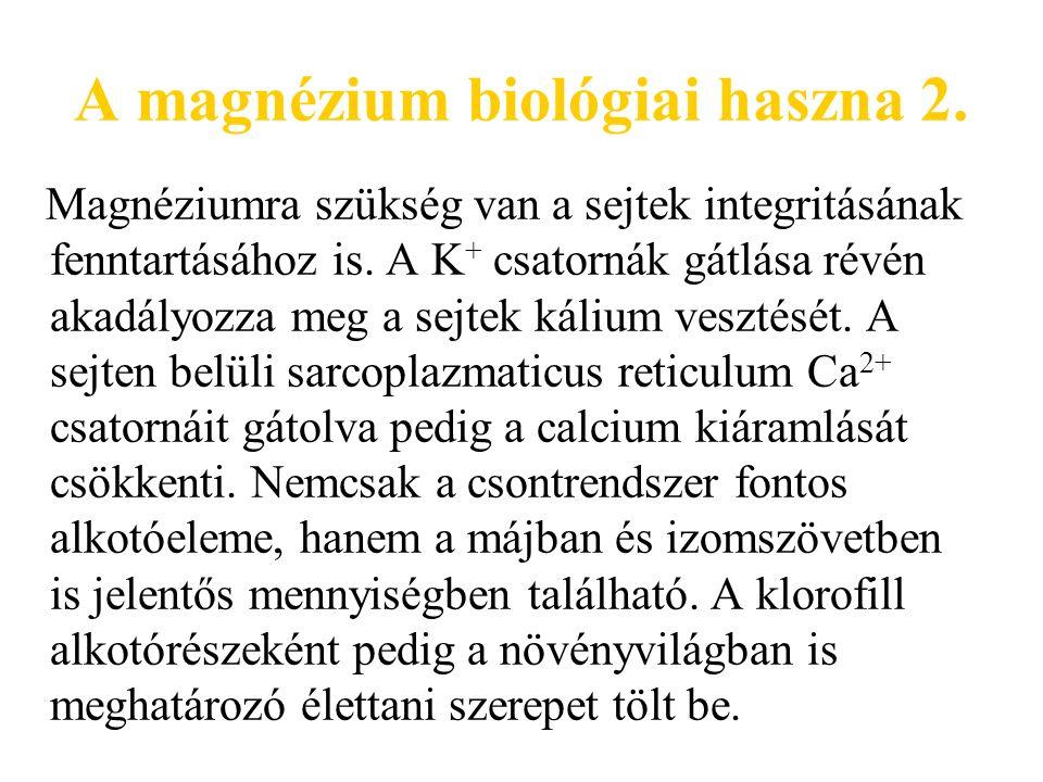 A magnéziumhiány kimutatása 1.