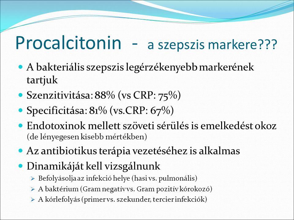 Procalcitonin - a szepszis markere .