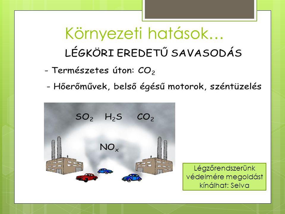 Környezeti hatások… Légzőrendszerünk védelmére megoldást kínálhat: Selva
