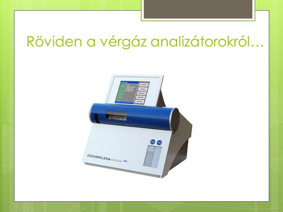 Röviden a vérgáz analizátorokról…