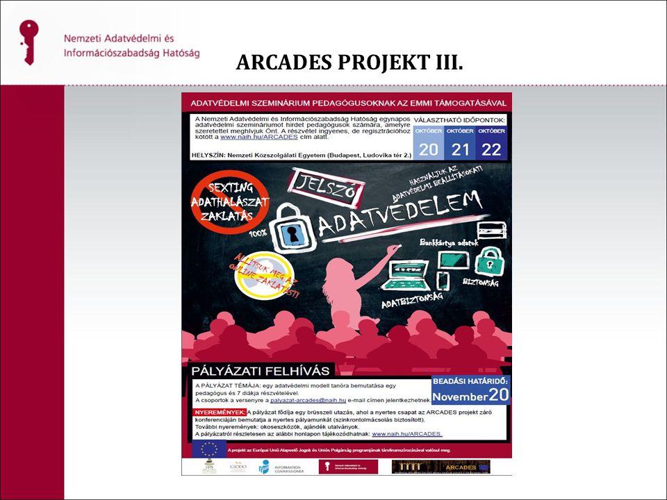ARCADES PROJEKT III.