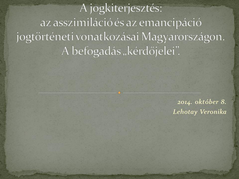 2014. október 8. Lehotay Veronika