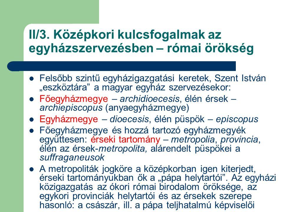Az esztergomi és kalocsai érseki tartomány a XVI.sz.