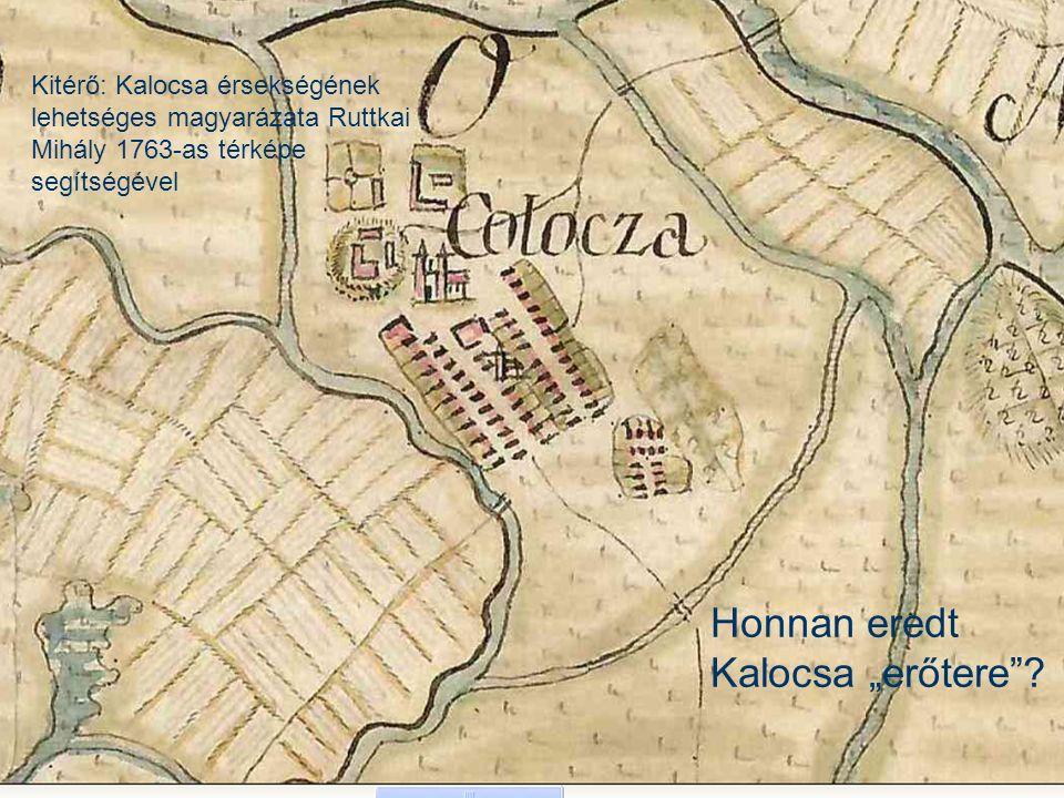Ruttkay térkép Az első részletes vízrajzi térképek a 18.