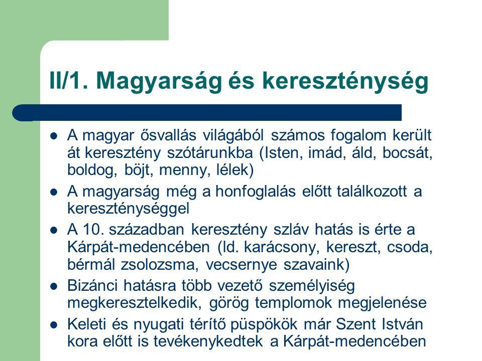 II/2.Szent István művének elhelyezése A IX.