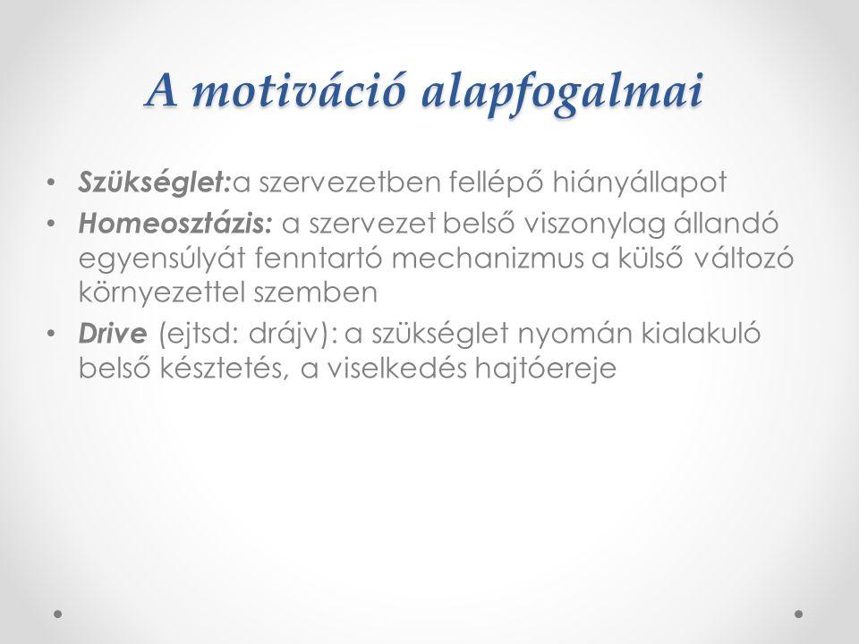 A motiváció fogalma A latin eredetű movere igéből ered, melynek jelentése mozogni, mozgatni.