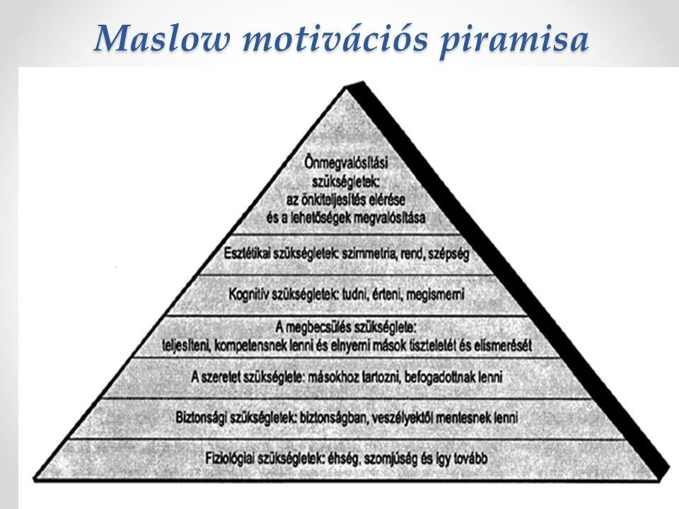 A motívumok természete szerint elkülönítjük: Biológiai motívumok Szociális motívumok (szexuális és fajfenntartási) Kíváncsiságmotívumok o Ingerkeresés o Kalandkeresés o Manipuláció