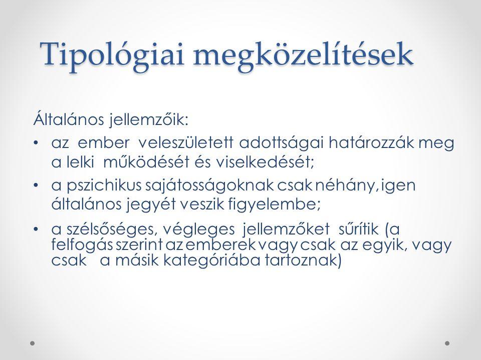 Személyiségtipológiák