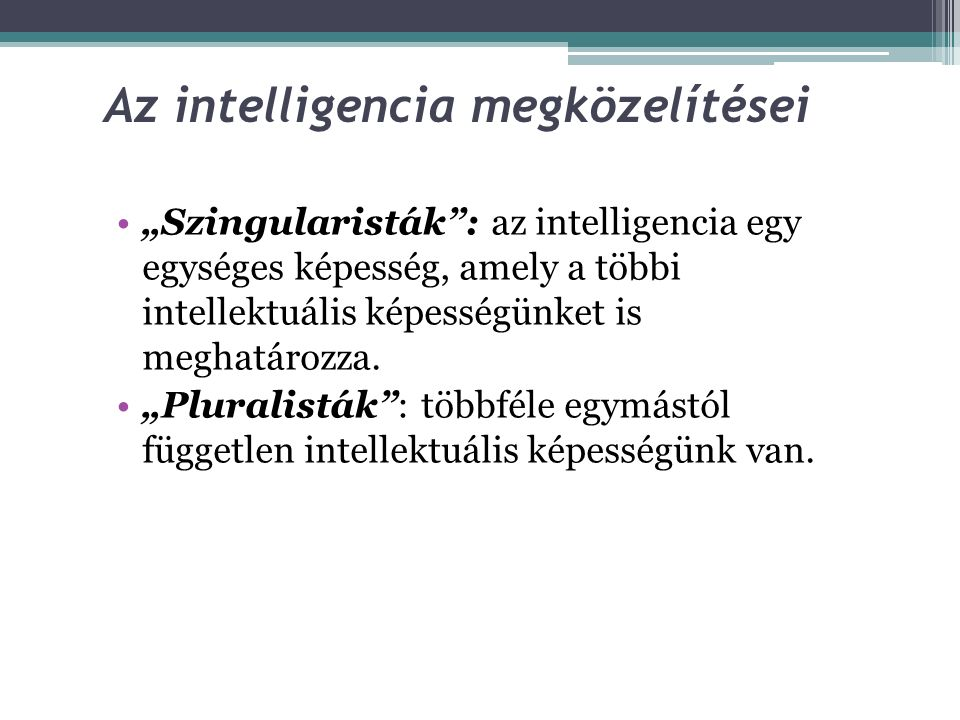 Az intelligencia