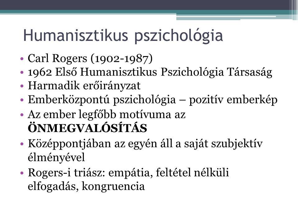Alaklélektan (Gestalt pszichológia) Atyja: Max Wertheimer 1910-es évek, Németország Az egész elsődlegessége a részletekkel szemben—>a szervező elveket