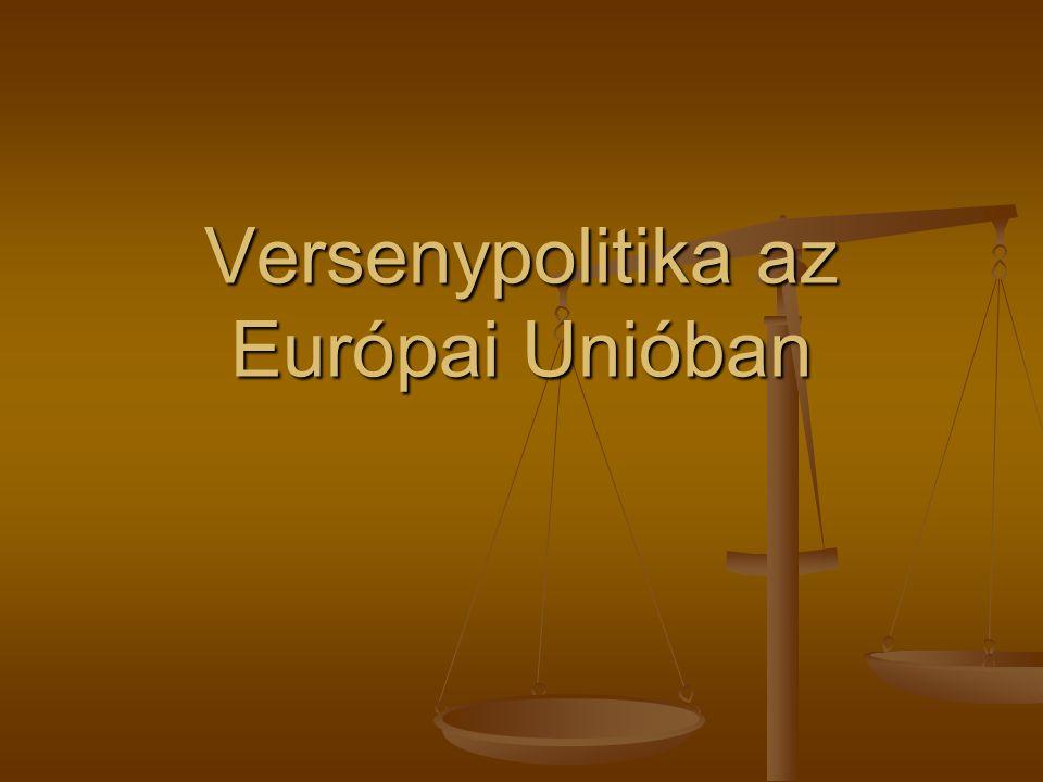 Versenypolitika az Európai Unióban