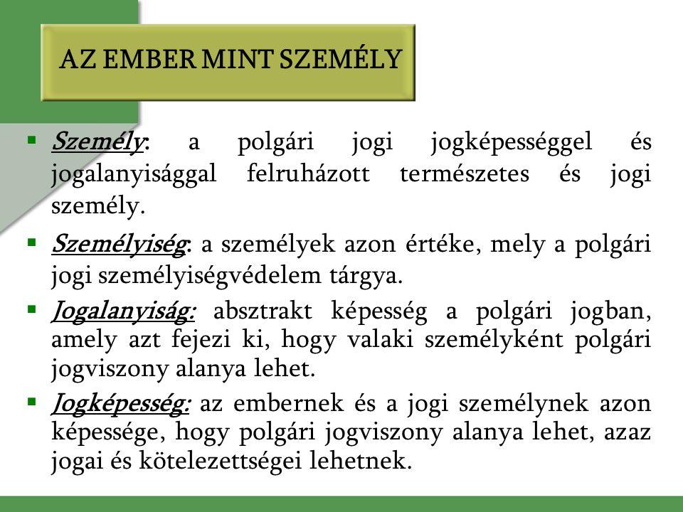 MEGSZŰNT (MEGSZŰNŐ) JOGI SZEMÉLYEK 1.
