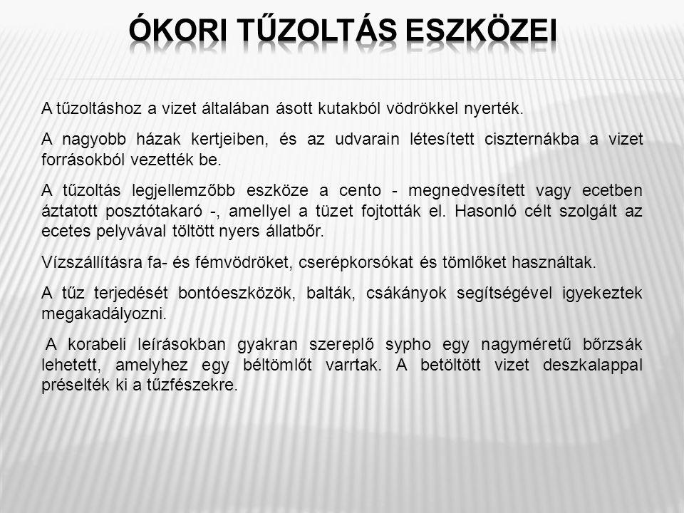 Az állami tűzoltóság megszervezője, irányítója Magyarországon és Törökországban.
