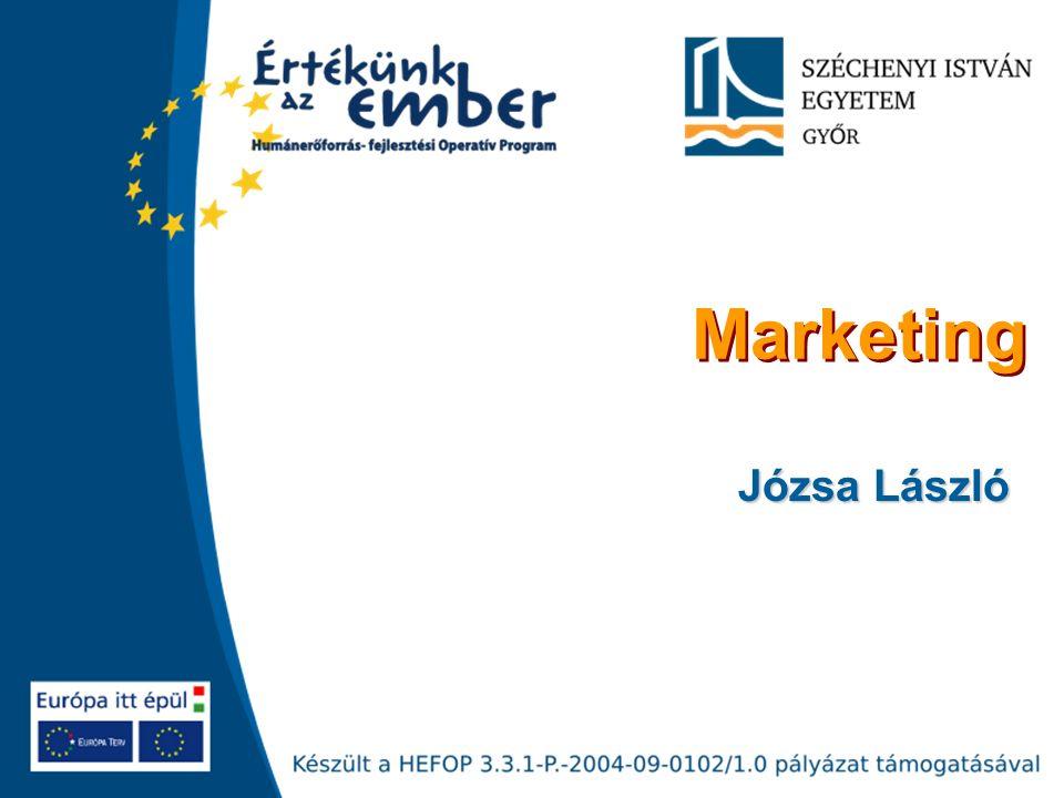 Marketing Józsa László