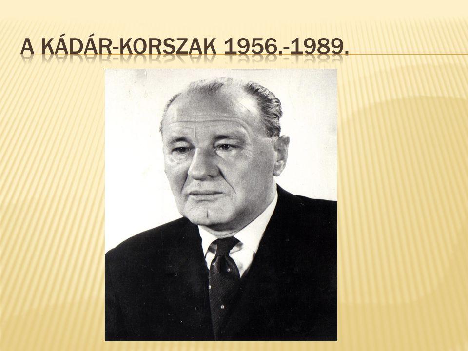  M.o. a KGST gazdasági rendszerének tagja  1957.