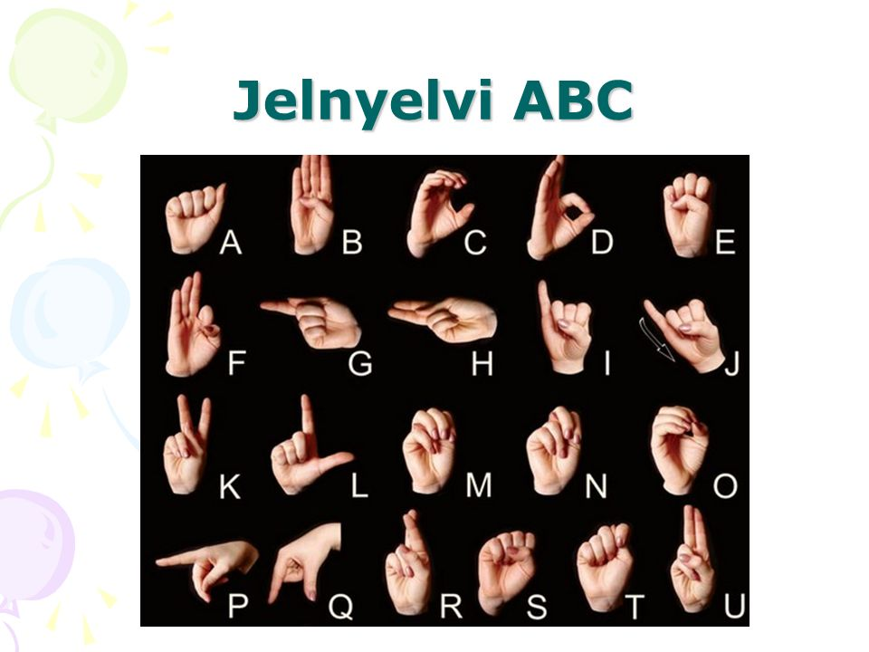 Jelnyelvi ABC