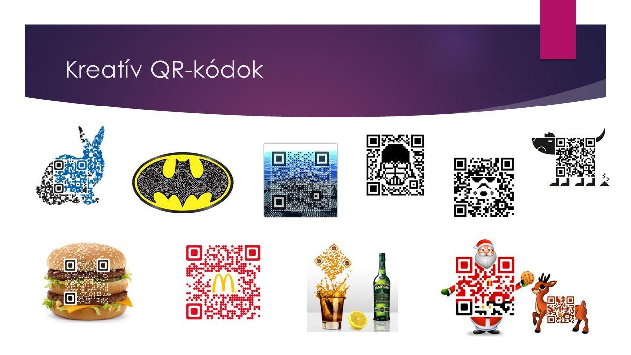 Kreatív QR-kódok