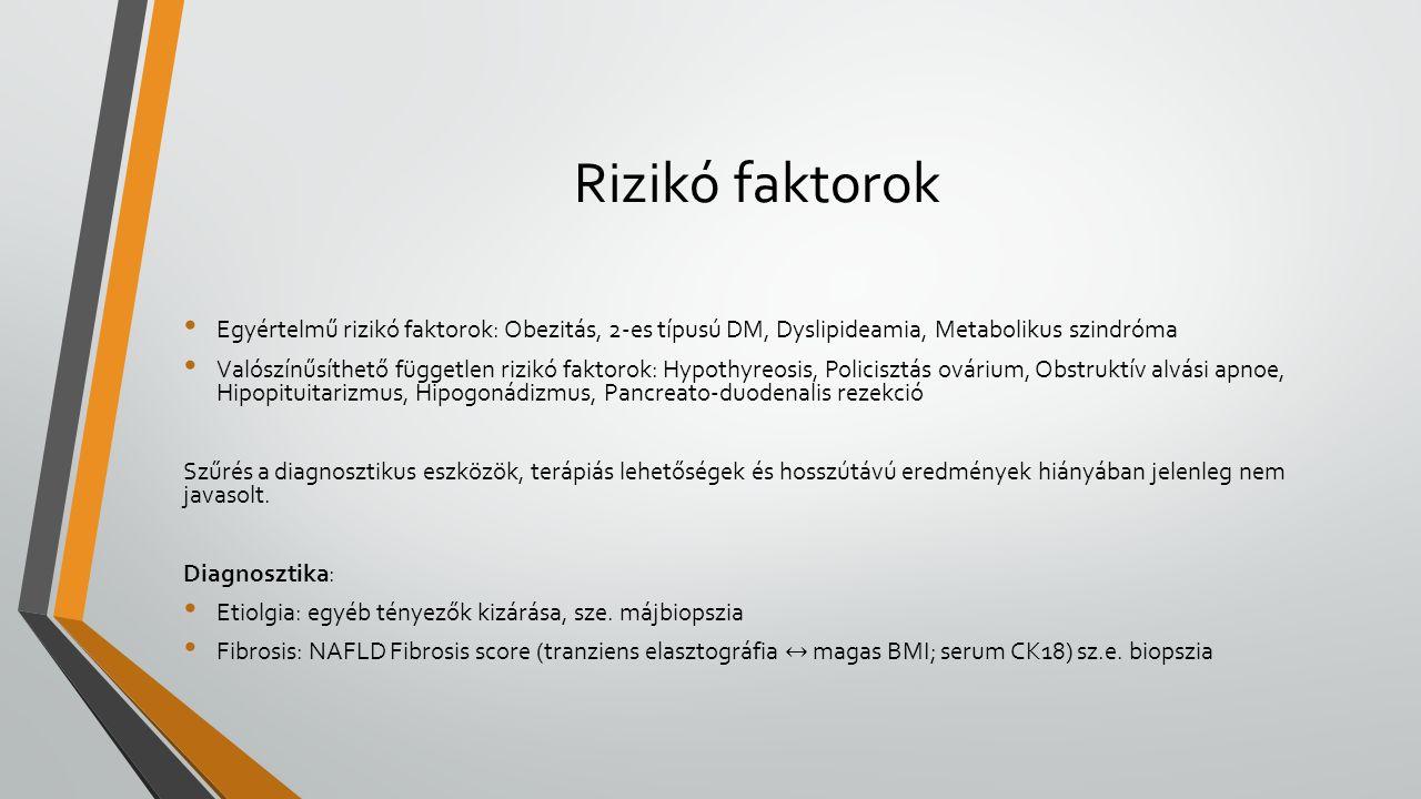 Rizikó faktorok