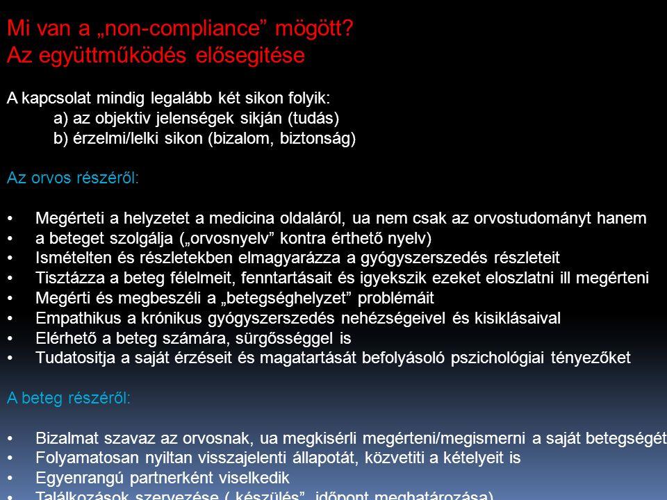 """Mi van a """"non-compliance mögött."""