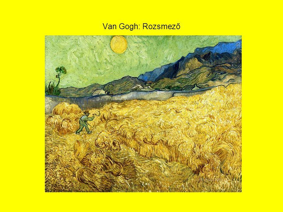 Van Gogh: Rozsmező