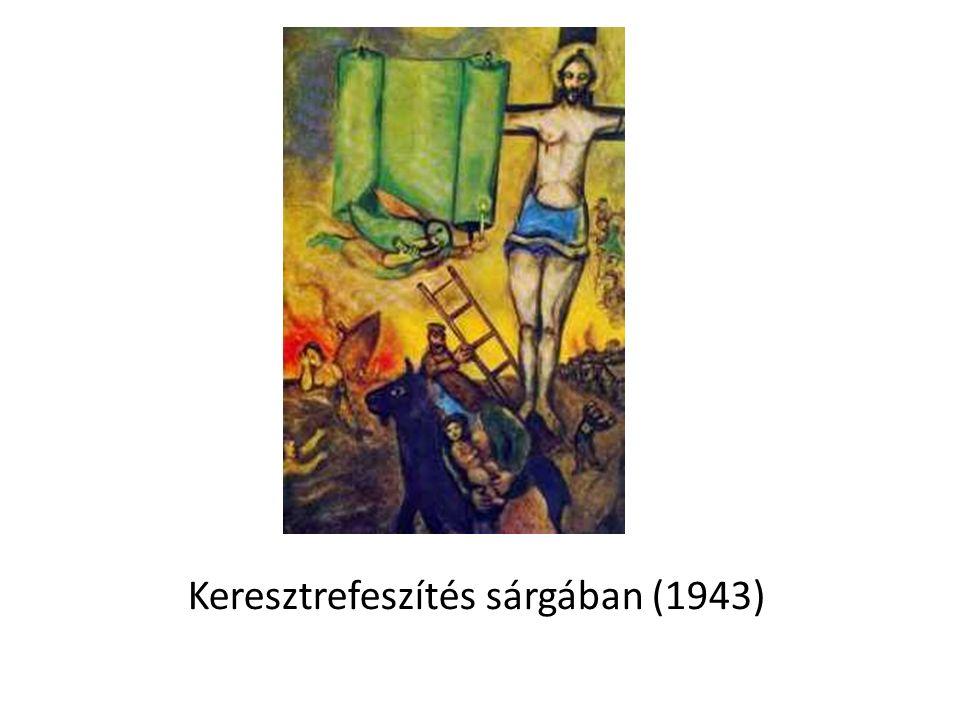 Keresztrefeszítés sárgában (1943)
