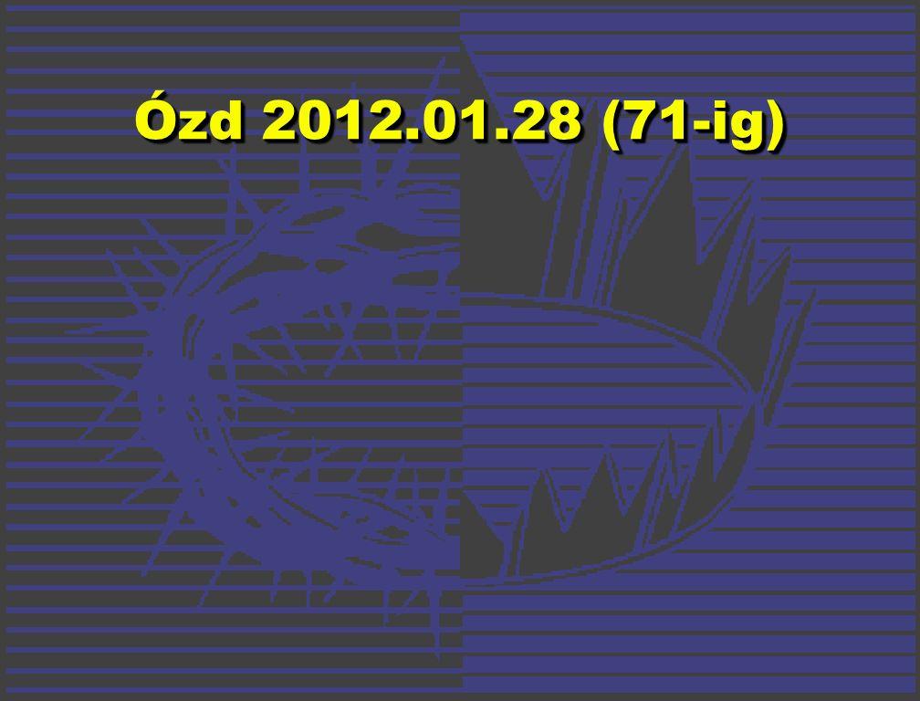 Ózd 2012.01.28 (71-ig)