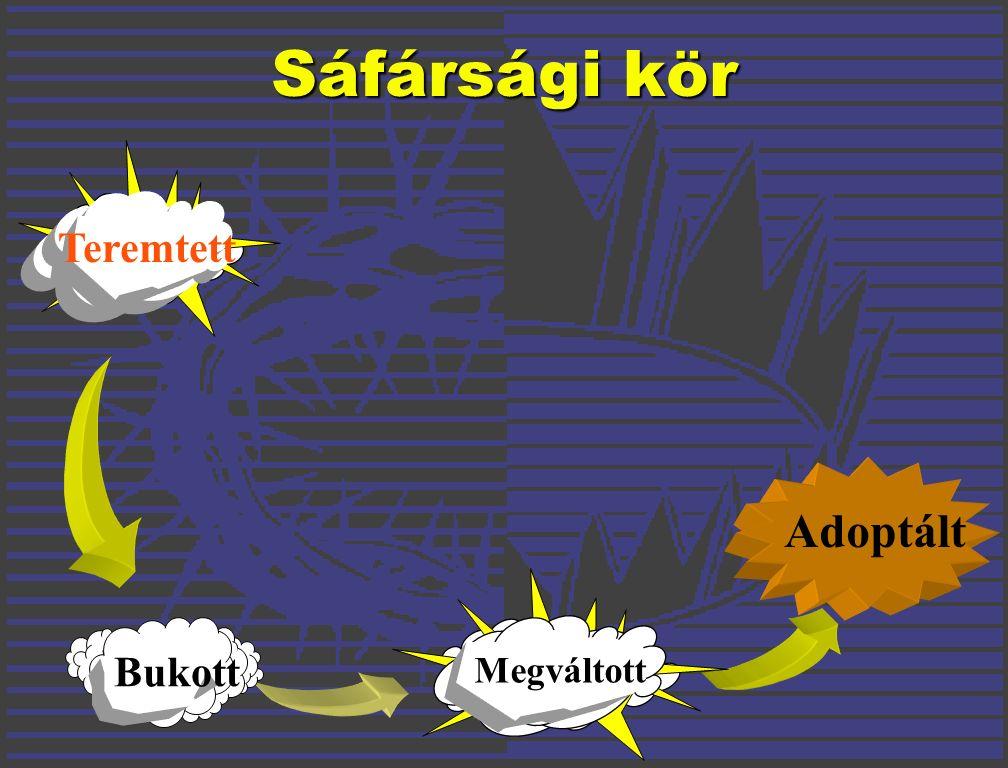 Adoptált Sáfársági kör Teremtett Bukott Megváltott