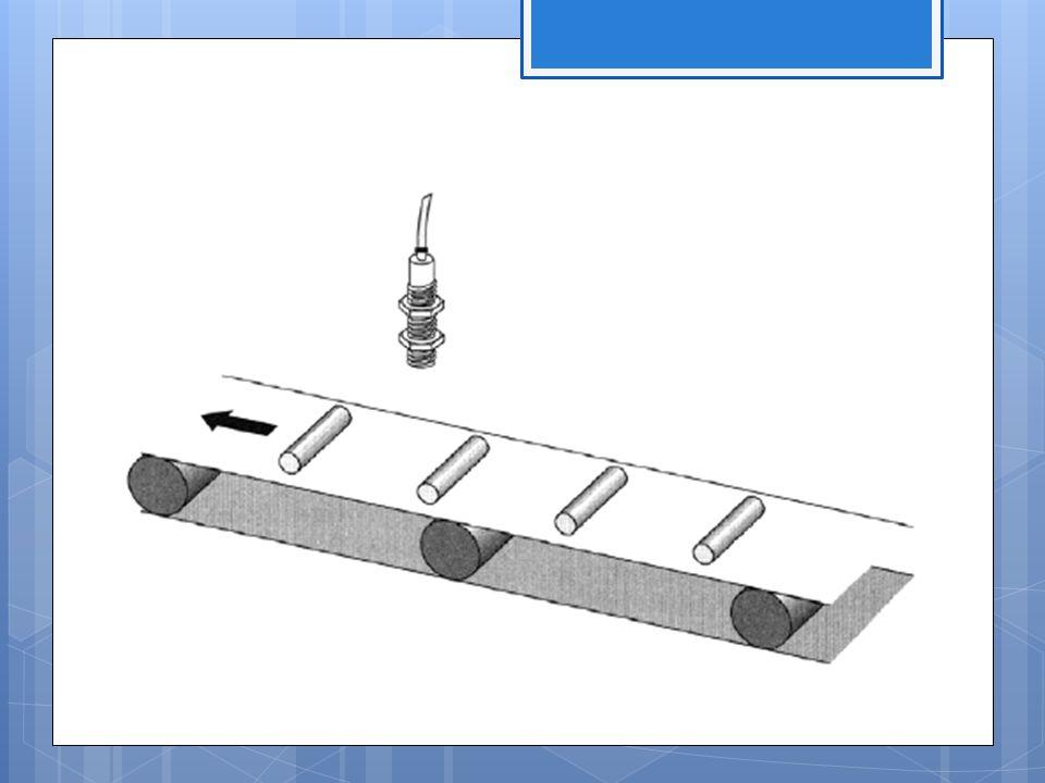 Kapacitív közelítéskapcsolók Működési elv: A kapacitív érzékelők aktív eleme egy kondenzátor, amely egy tárcsa alakú elektródából és egy, az aktív felületet határoló kehelyformájú félig nyitott fegyverzetből áll.