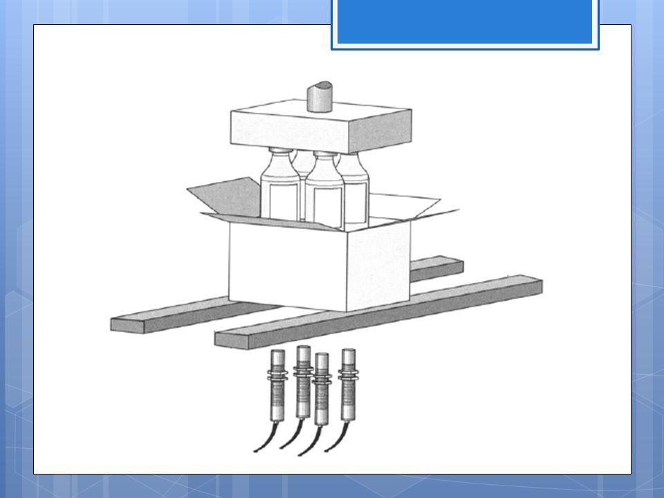 Optikai érzékelők Működési elv: Az optikai érzékelők optikai és elektronikai eszközök kombinációját használva jelzik a különböző objektumok – tárgyak, anyagok – jelenlétét.